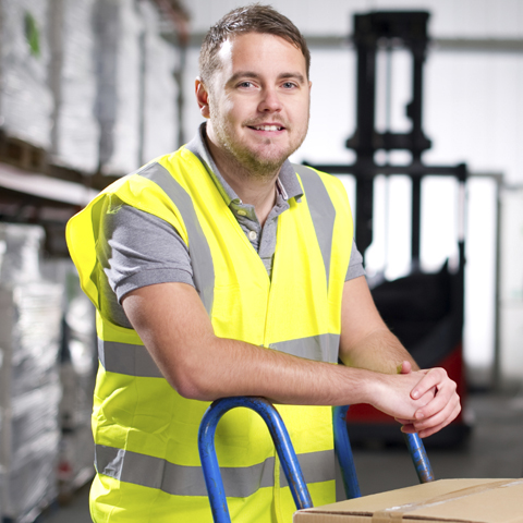 Warehouse Worker yellow